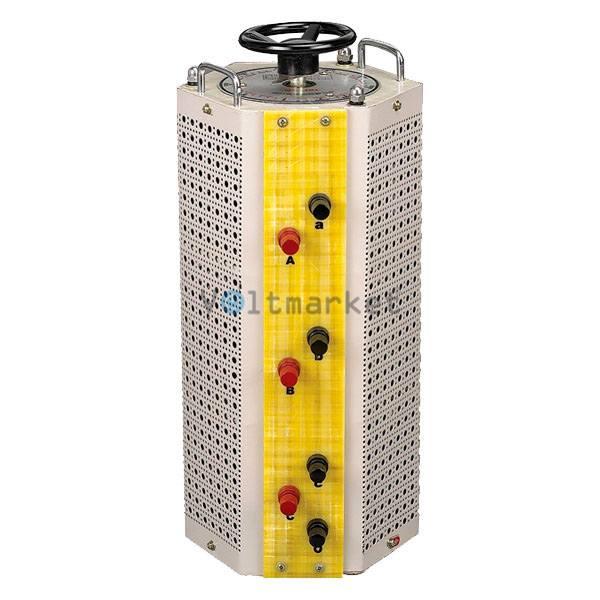 Лабораторный автотрансформатор регулируемый Элим ЛАТР-3-15