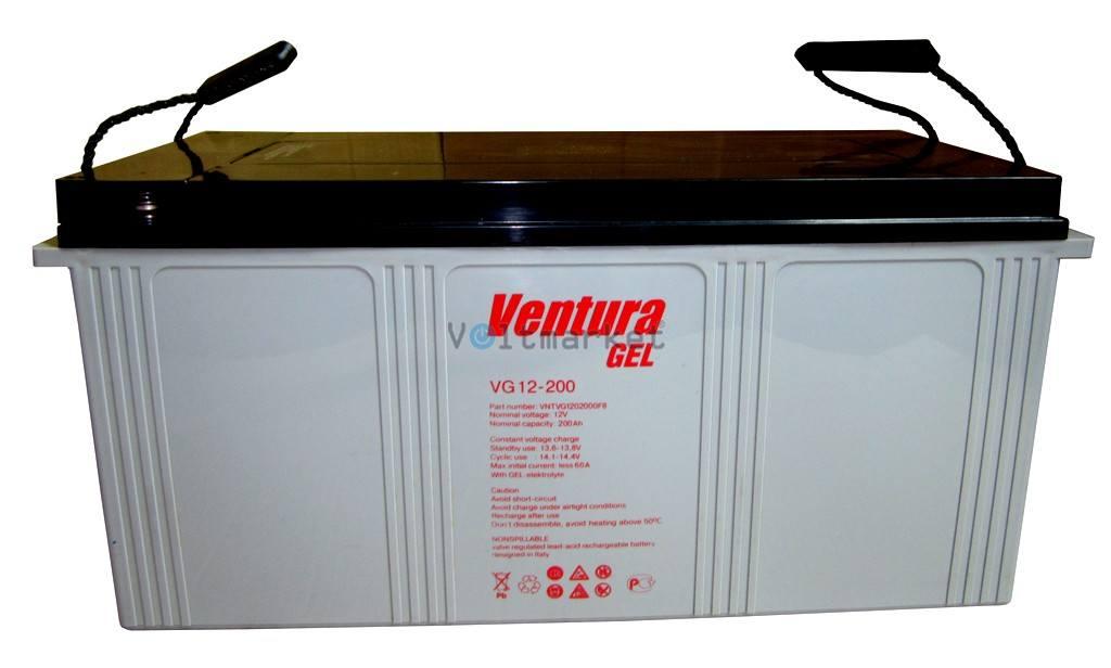 Гелевая аккумуляторная батарея Ventura VG12-200