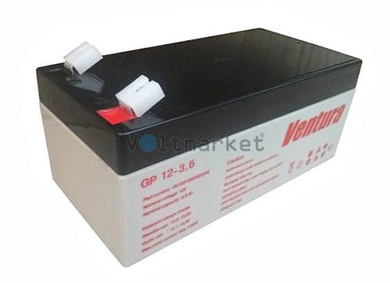 Аккумуляторные батареи Ventura GP 12-3,6