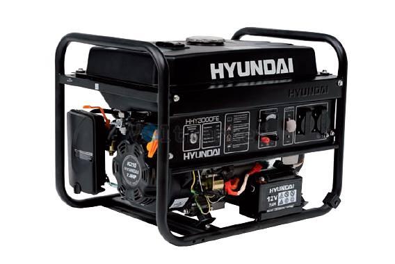 Бензиновая электростанция Hyundai HHY3000FE