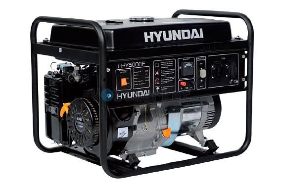 Бензиновая электростанция Hyundai HHY5000F