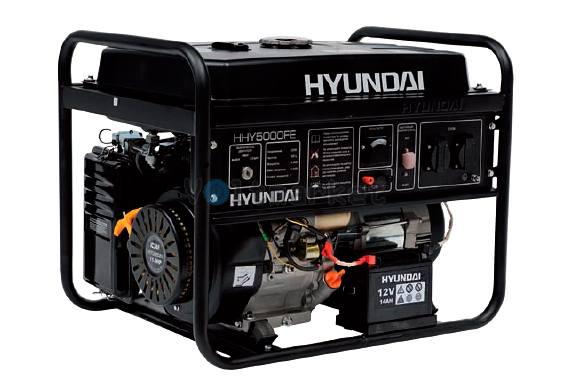 Бензиновая электростанция Hyundai HHY5000FE