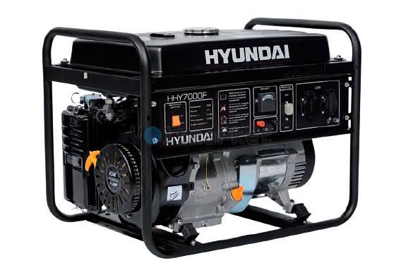 Бензиновая электростанция Hyundai HHY7000F
