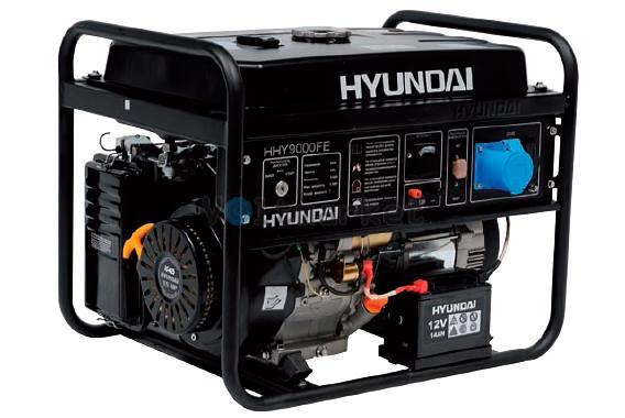 Бензиновая электростанция Hyundai HHY9000FE