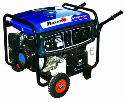 Бензиновая электростанция Matari HP5700