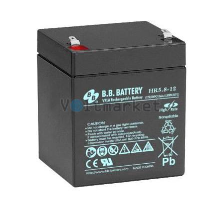 Аккумуляторная батарея B.B. Battery HR5.8-12/T1