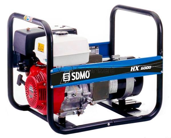 Бензиновый генератор SDMO HX6000C