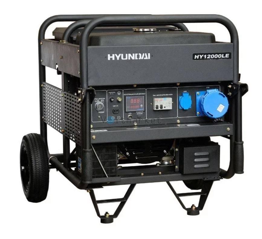 Бензиновая электростанция Hyundai HY12000LE