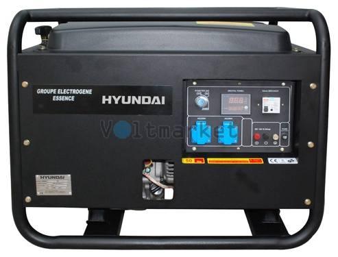 ензиновый генератор Hyundai HY7000SE