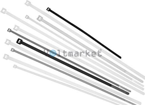Стяжка кабельная нейлоновая RUCELF NCT-450x4.8