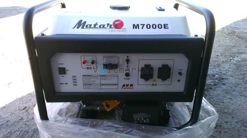 Бензиновая электростанция Matari M7000E