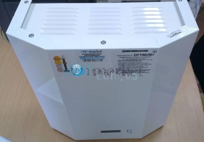однофазный стабилизатор напряжения Укртехнология OPTIMUM 15000 HV