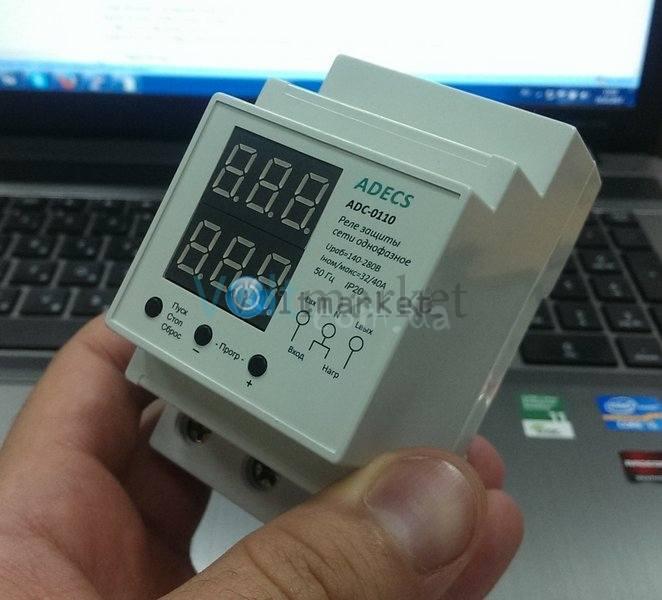 Устройство защиты сети трёхфазное ADECS ADC-0131-10