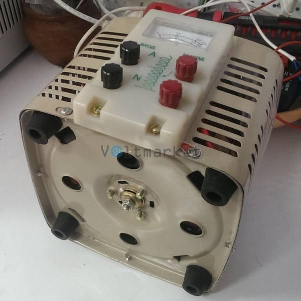 Лабораторный автотрансформатор однофазный LUXEON ЛАТР-3 кВа