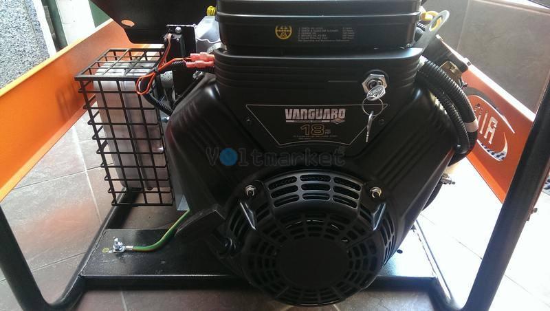 Бензиновая электростанция RID RV 8001 E