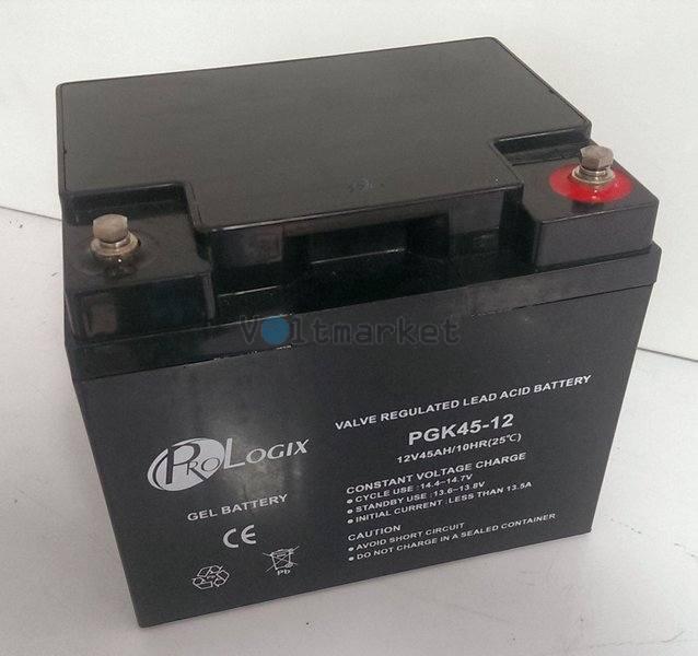 Аккумуляторная батарея Prologix GK45-12 (GEL-технология)