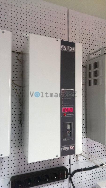 Тиристорный стабилизатор напряжения ЭЛЕКС ГЕРЦ М У 16-1/40 v 2.0