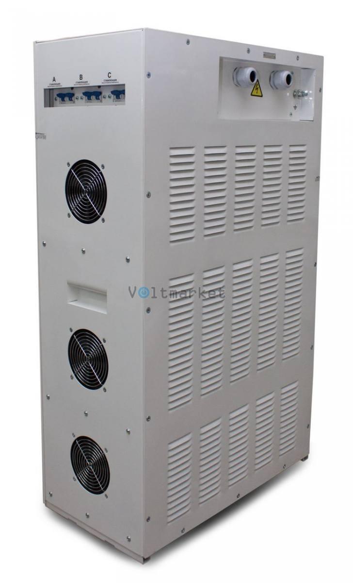 трёхфазный стабилизатор напряжения Укртехнология STANDARD 20000х3