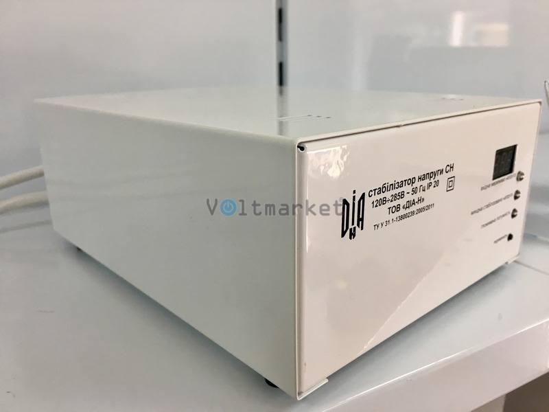 Однофазный стабилизатор напряжения ДИА-Н СН-3000М