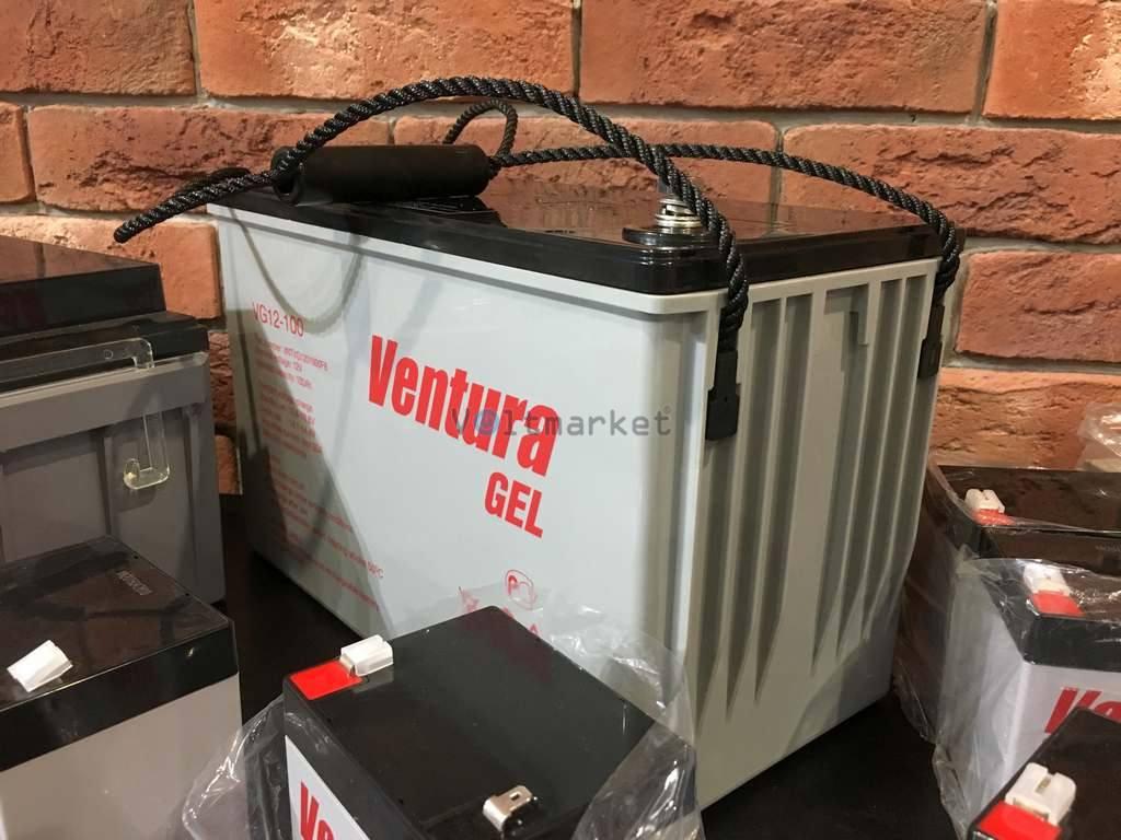 Гелевая аккумуляторная батарея Ventura VG12-100
