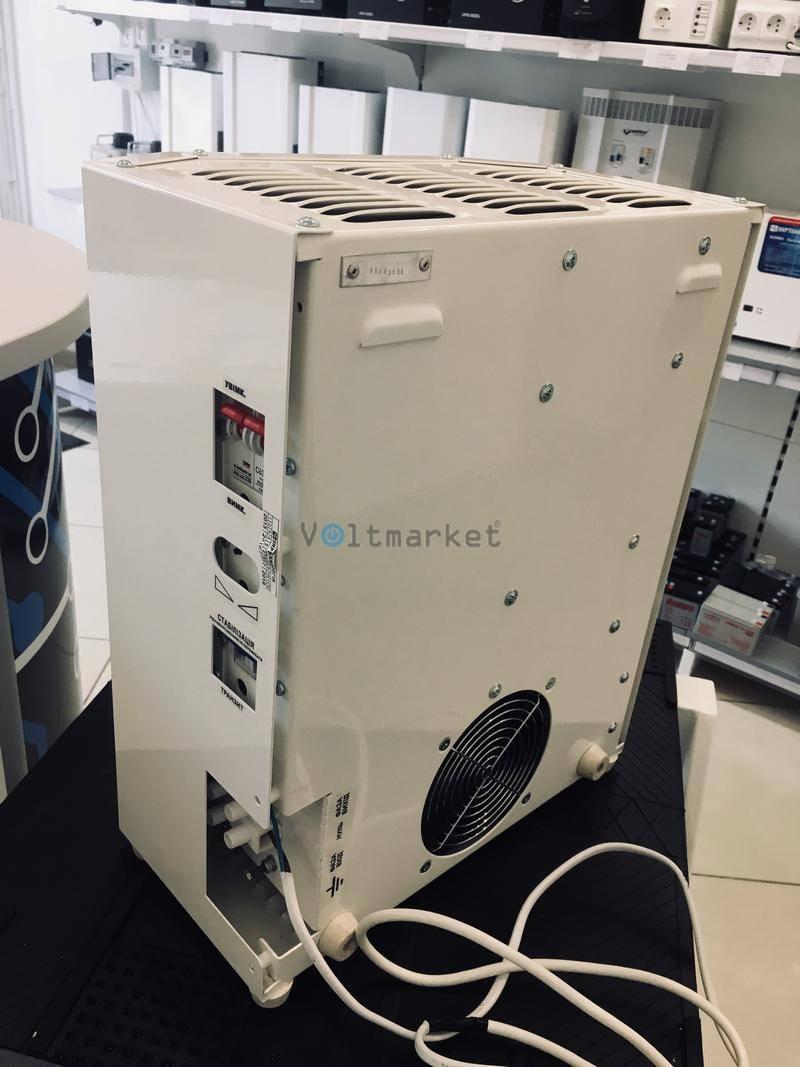однофазный стабилизатор напряжения Укртехнология INFINITY 12000