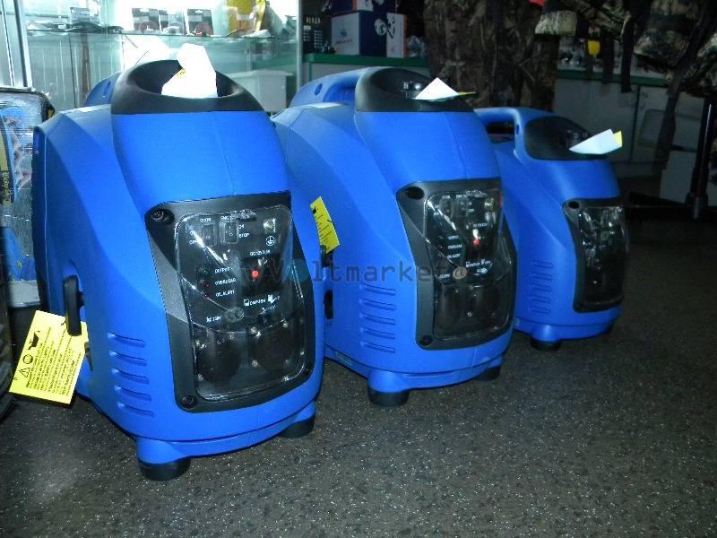 Инверторный бензогенератор Weekender D1200i