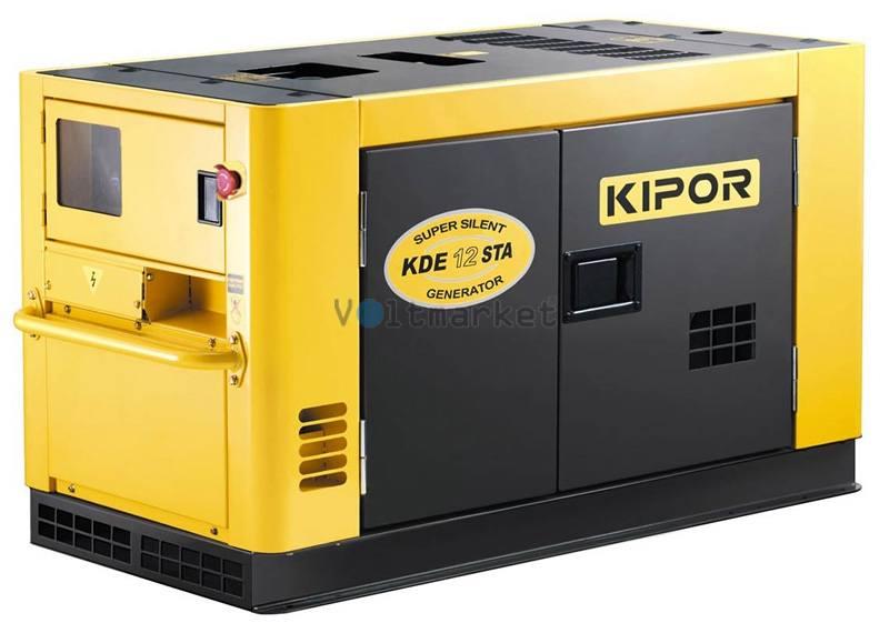 Дизельная электростанция KIPOR KDЕ12STA