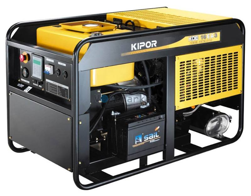 Дизельная электростанция KIPOR KDЕ16ЕA3