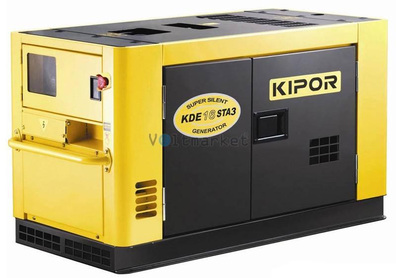 Дизельная электростанция KIPOR KDE16STAО3