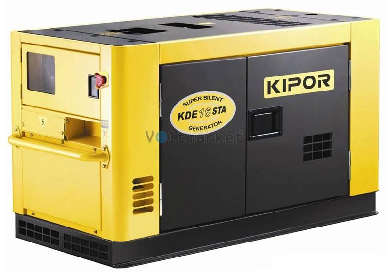 Дизельная электростанция KIPOR KDE16STAO