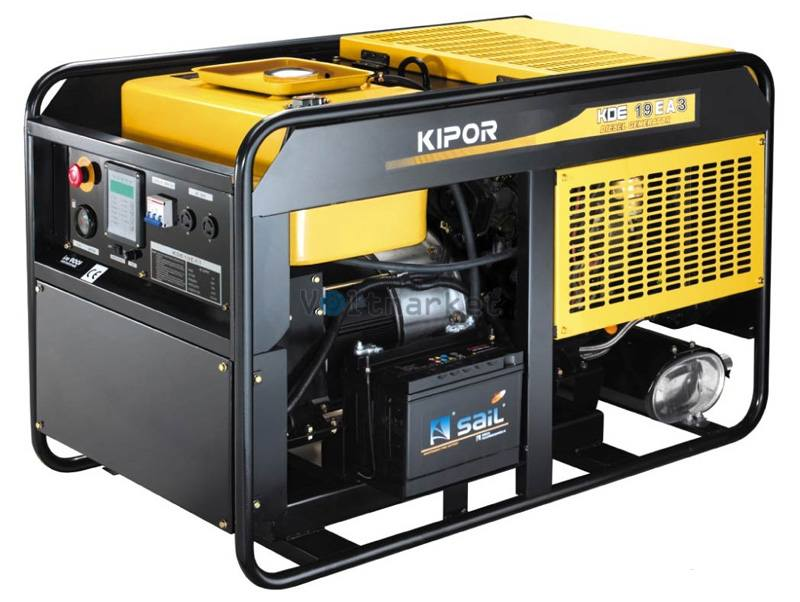 Дизельная электростанция KIPOR KDЕ19ЕA3