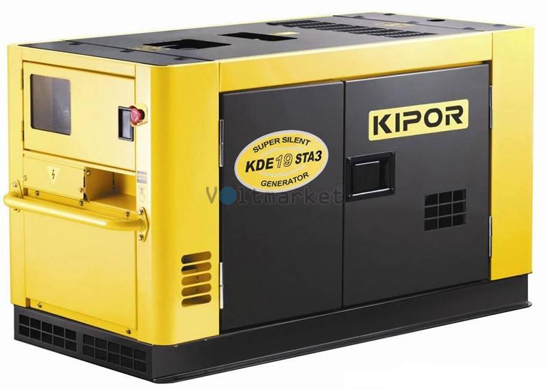 Дизельная электростанция KIPOR KDE19STAO3
