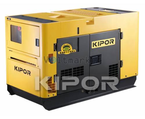 Дизельная электростанция KIPOR KDE35SSО3