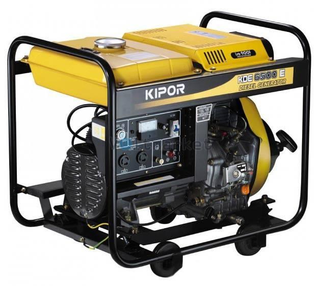 Дизельная электростанция KIPOR KDE6500E