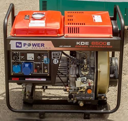 Дизельная электростанция  KJ POWER KDE-6500E1