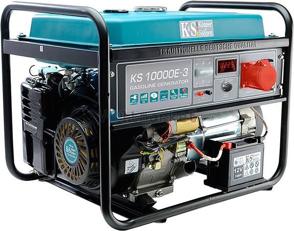 генератор Konner&Sohnen KS 10000E-3