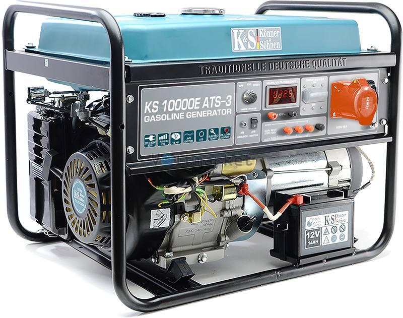 Бензогенератор Konner&Sohnen KS 10000E ATS-3