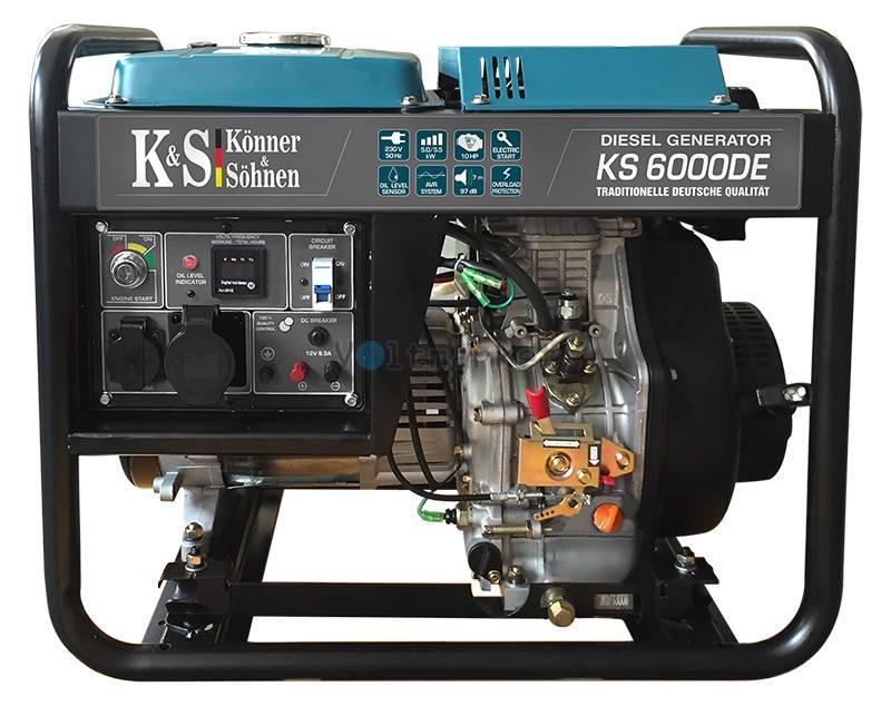 Дизельный генераторы Konner&Sohnen KS 6000DE