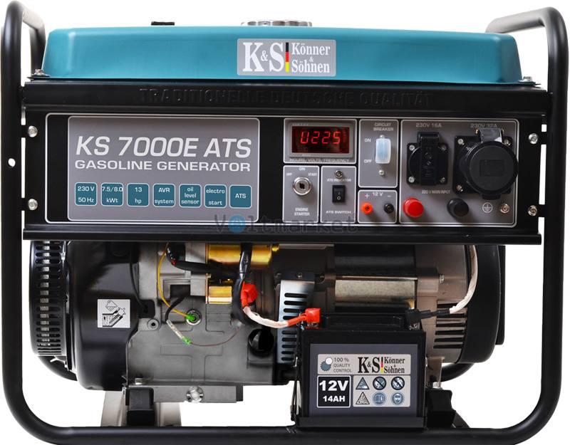 Бензиновый генератор Könner&Söhnen KS 7000E ATS