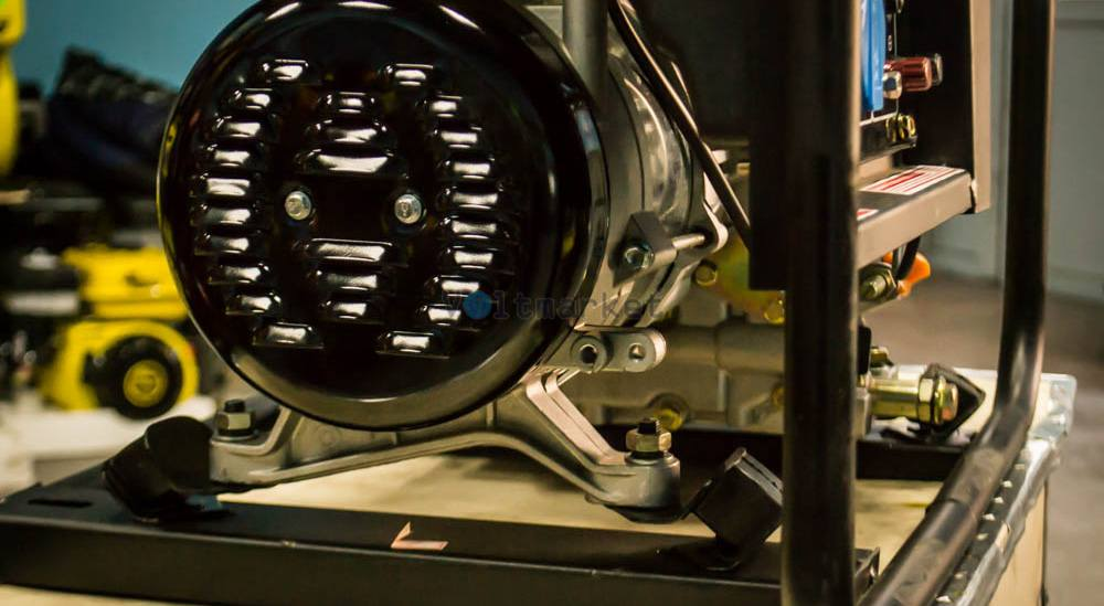 однофазный дизельный генератор Кентавр ЛДГ283
