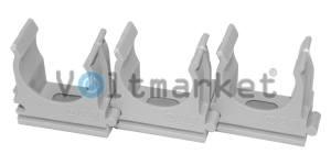 Крепеж для труб диам 20 мм