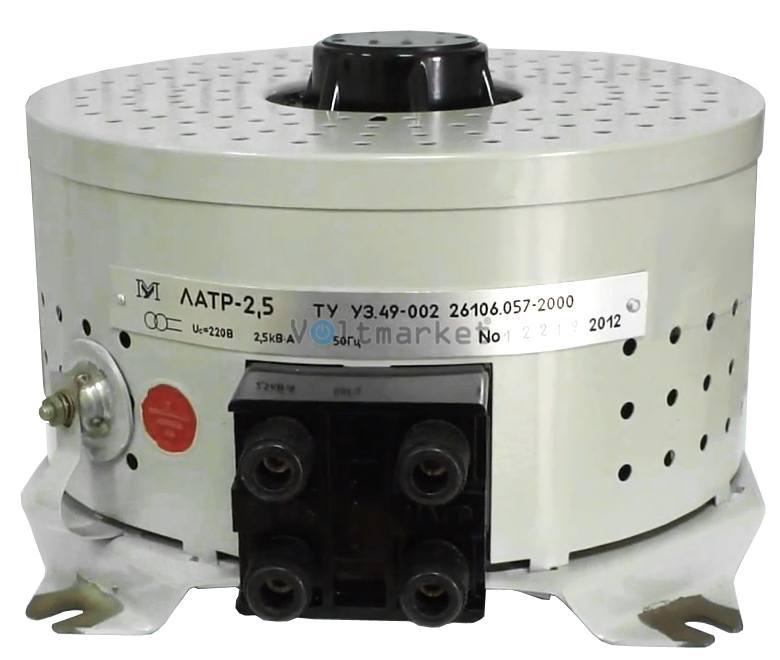 Лабораторный автотрансформатор однофазный Мегомметр ЛАТР-2.5