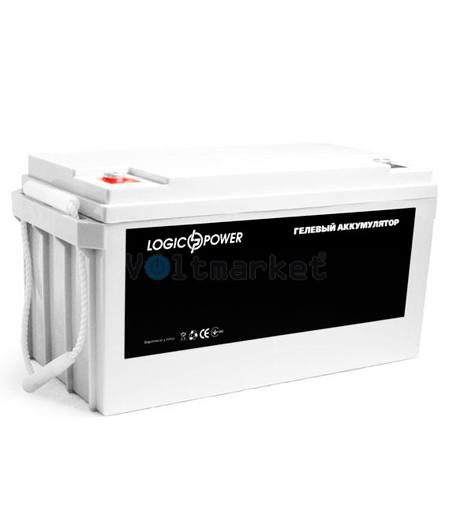Гелевые аккумуляторные батареи LOGICPOWER LP-GL 12V  180AH