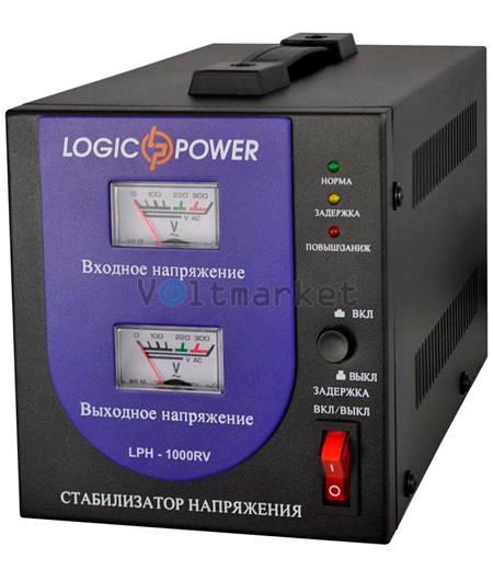 Релейные однофазные стабилизаторы напряжения LOGICPOWER LPH-1000RV