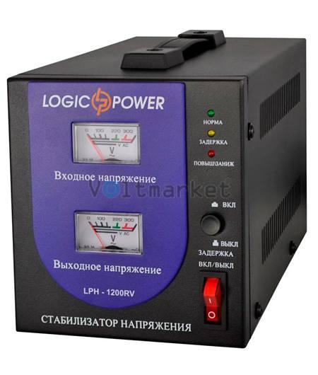 Релейные однофазные стабилизаторы напряжения LOGICPOWER LPH-1200RV