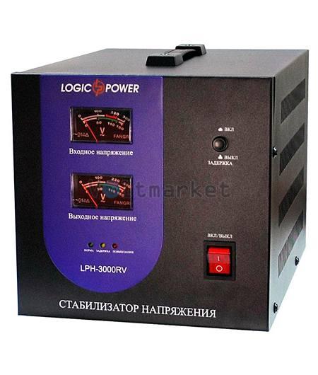 Релейные однофазные стабилизаторы напряжения LOGICPOWER LPH-3000RV