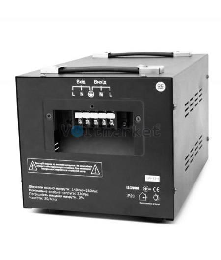 Однофазные сервоприводные стабилизаторы напряжения LOGICPOWER LPH-3000SD