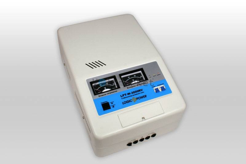 Релейные однофазные стабилизаторы напряжения LOGICPOWER LPT-W-3000RV