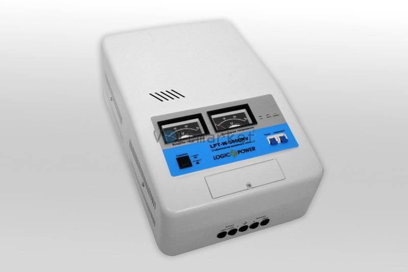 Релейные однофазные стабилизаторы напряжения LOGICPOWER LPT-W-5000RV
