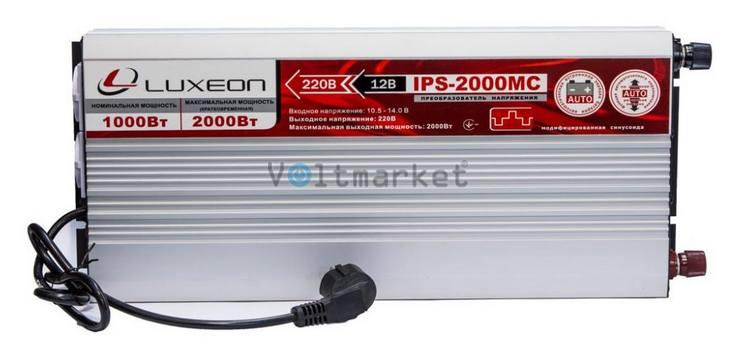 Преобразователь напряжения Luxeon IPS-2000MC